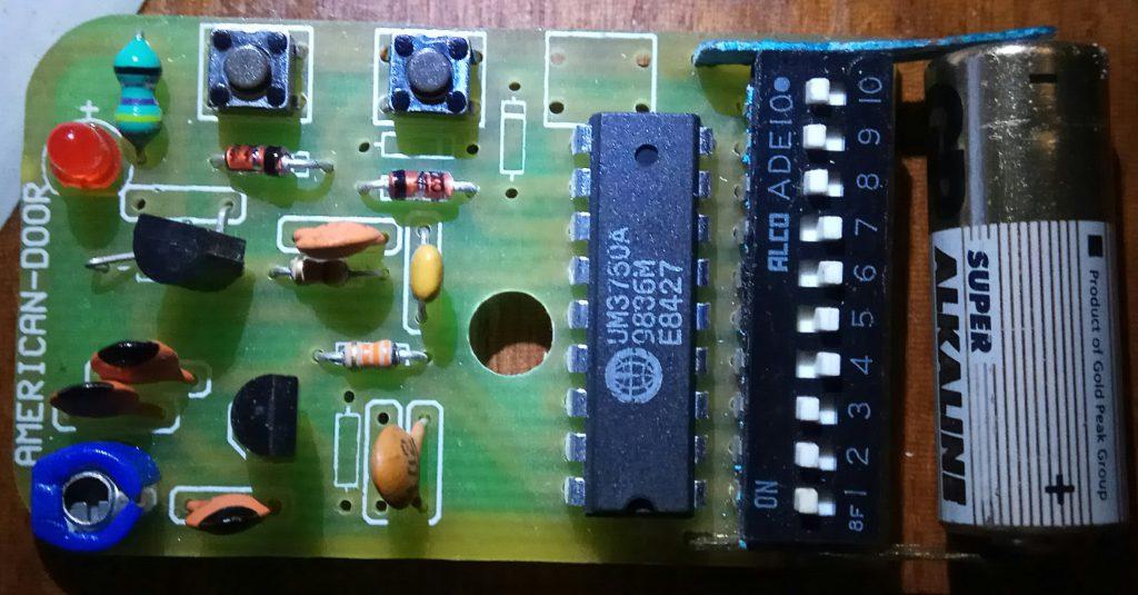 Remote control circuit