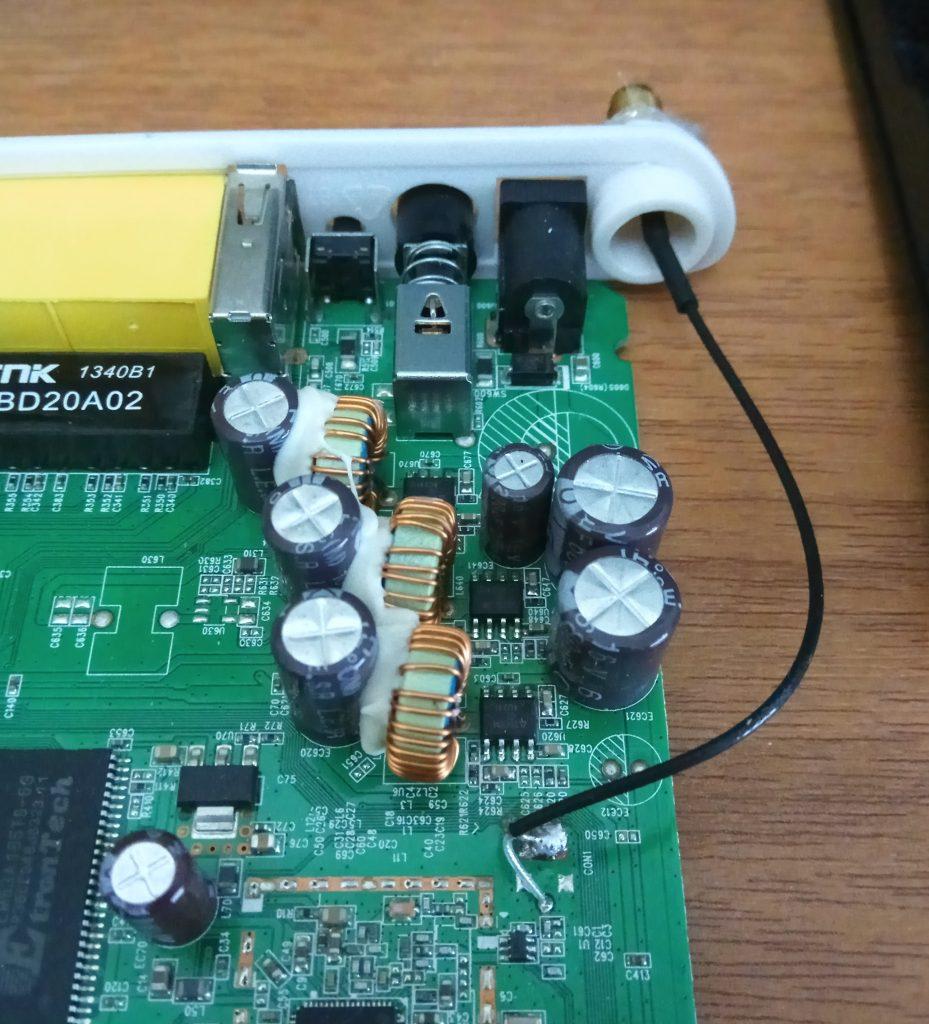 ZTE H108NS external Wi-Fi antenna pigtail